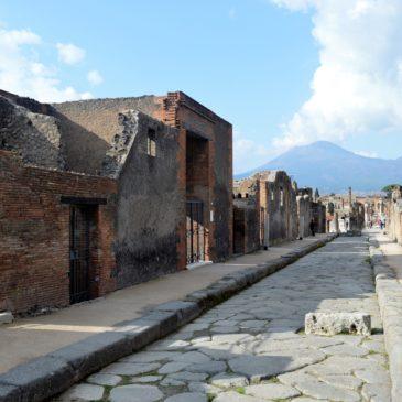 Pompeii (Pompei) et le Vésuve, une relation fructueuse au destin tragique