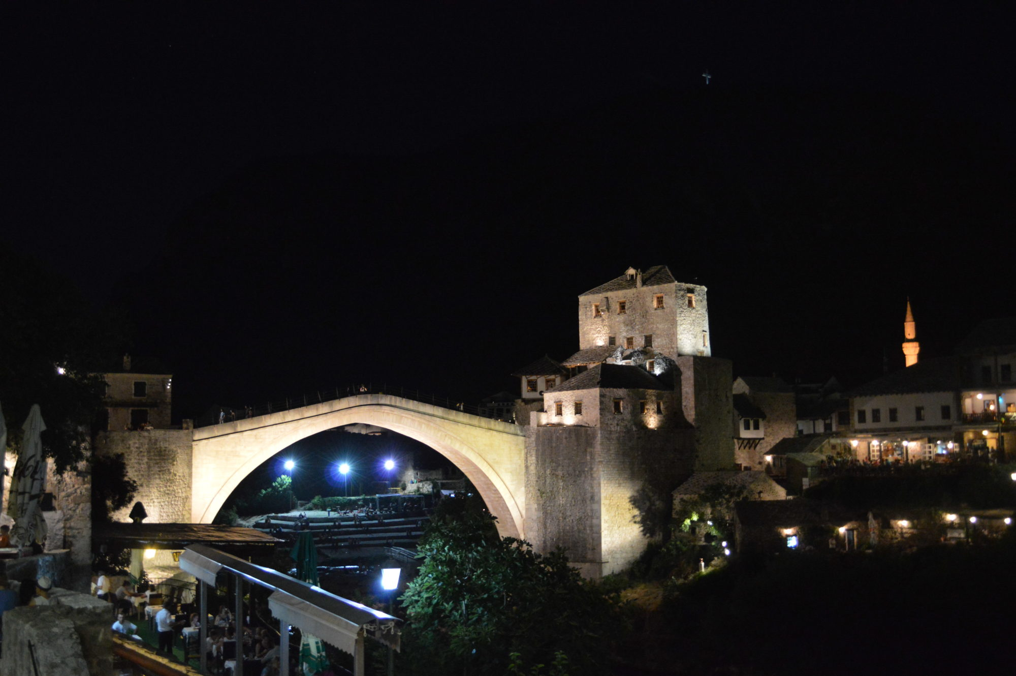 mostar-bridge-night