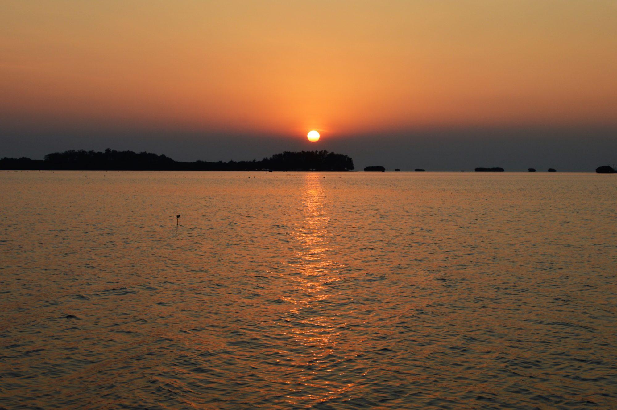 pulau-pari-sunset